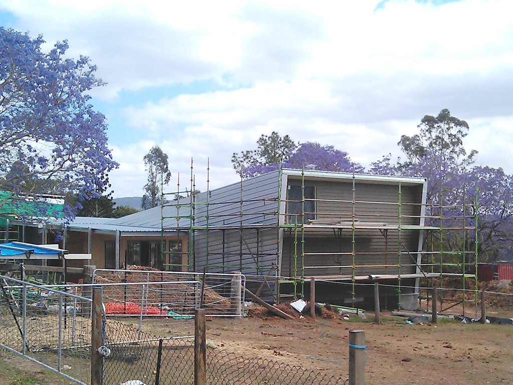 Pullenvale construction 01