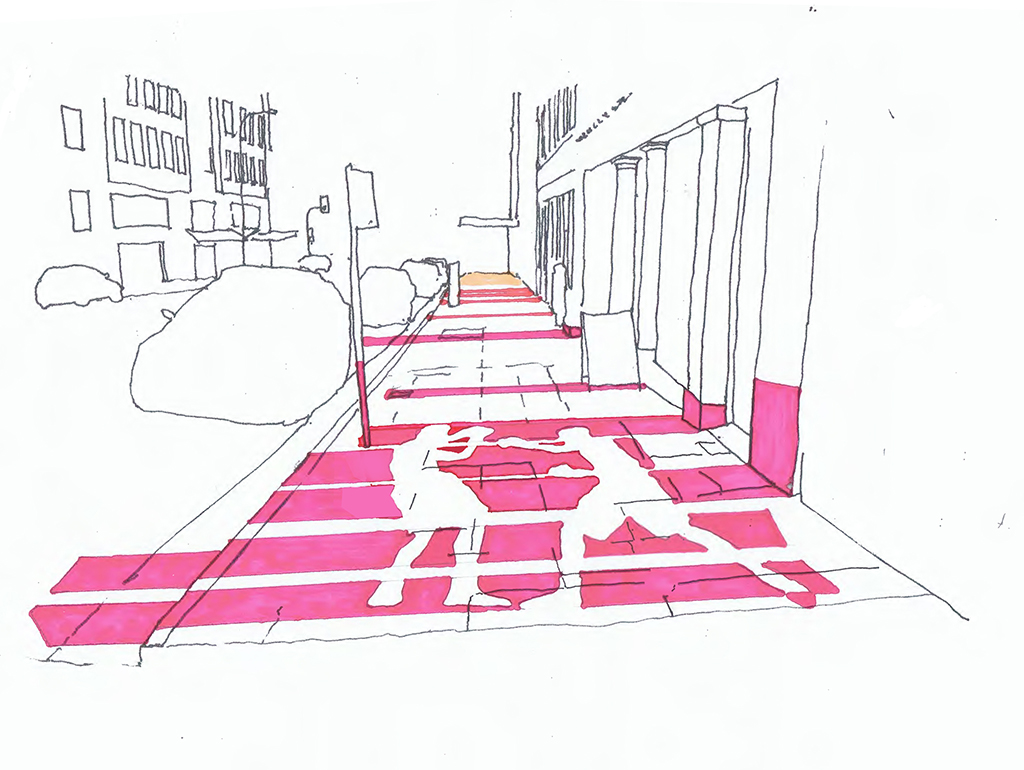 Watt St Pavement concept 01