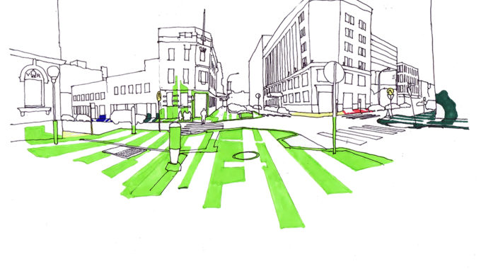 Watt Street Pavement Concept