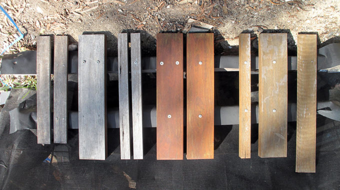 Whitebridge House – Timber Samples Weathering